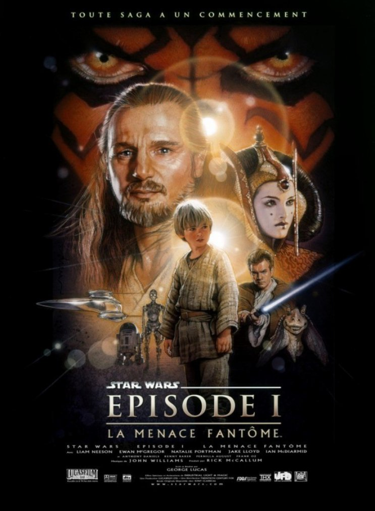 Star Wars, épisode I : La Menace fantôme (1999)