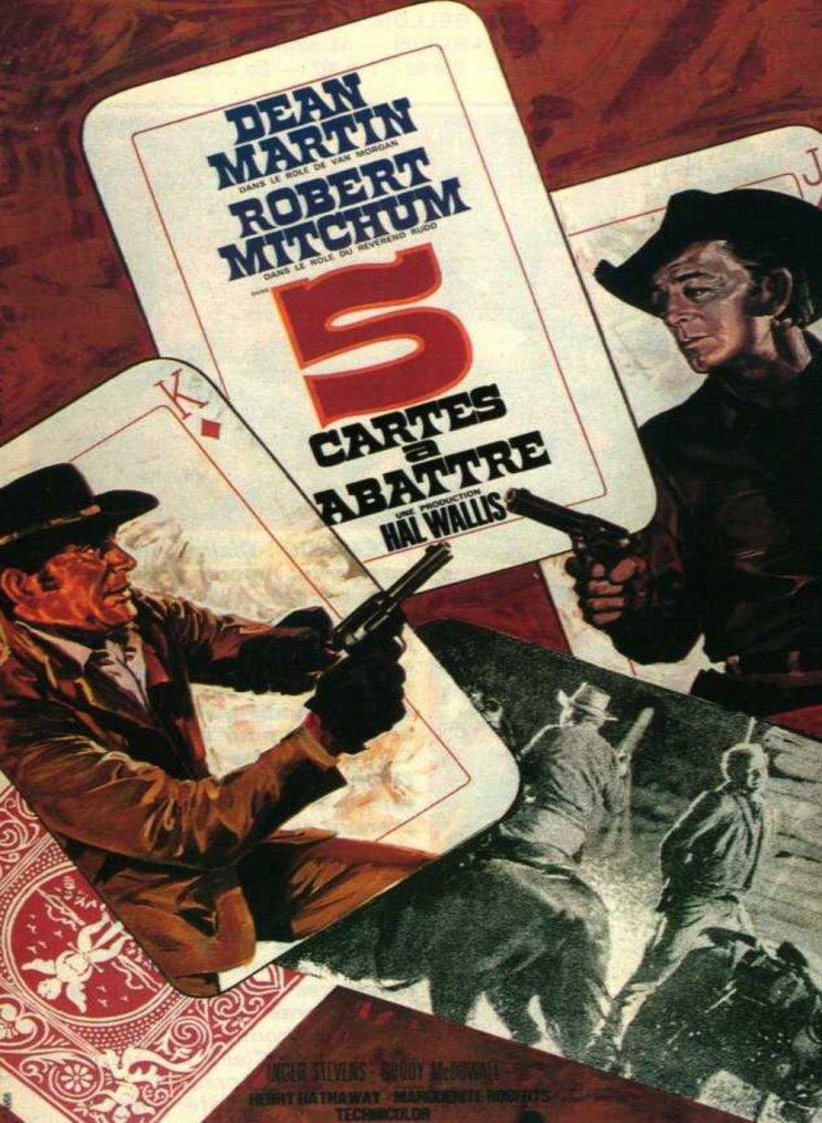 Cinq cartes à abattre (1968)