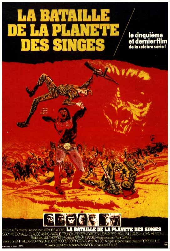 La Bataille de la planète des singes (1973)