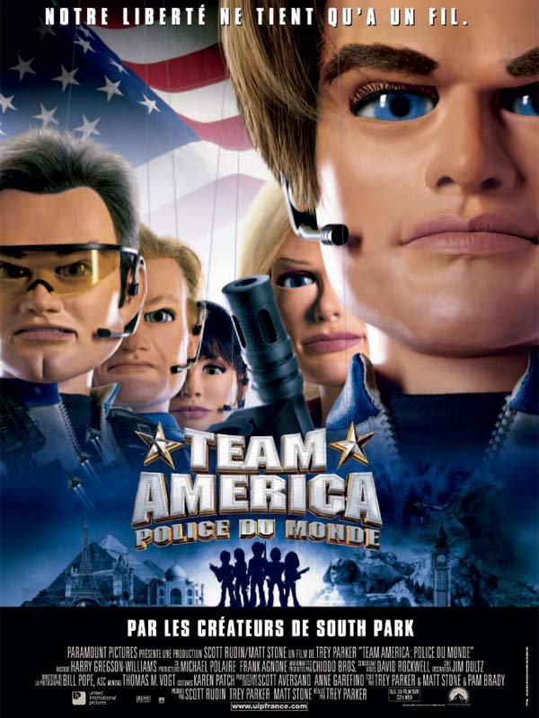 Team America, police du monde (2004)