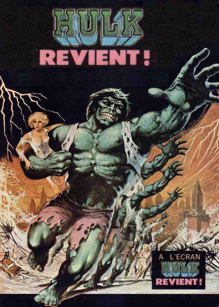 Hulk revient (1980)