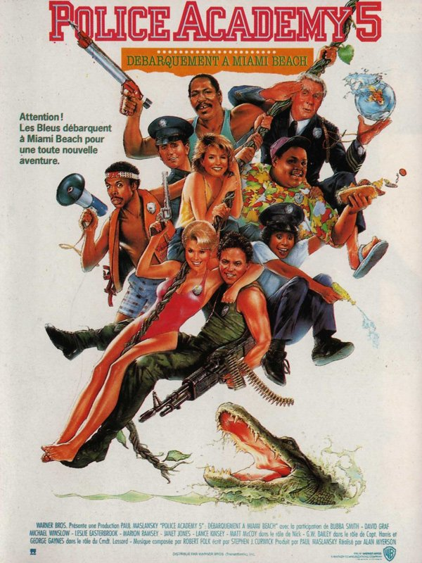 Police Academy 5 : Débarquement à Miami Beach (1988)