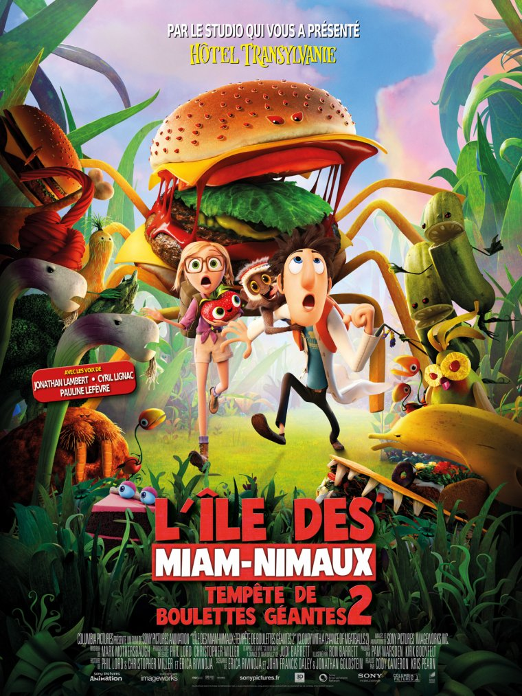 L'Île des Miam-nimaux : Tempête de boulettes géantes 2 (2013)