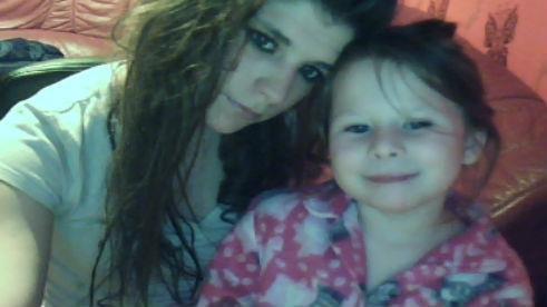 ma niece et moi , jtm ma tite <3
