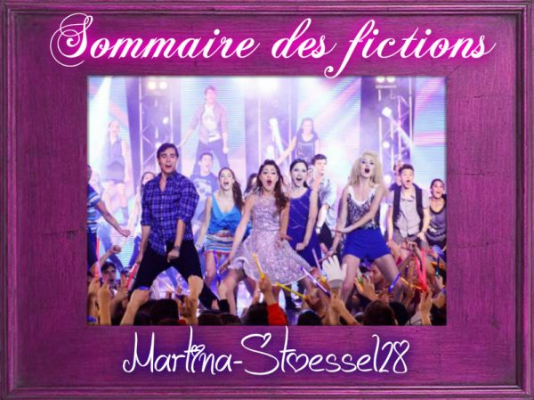 Sommaire fictions