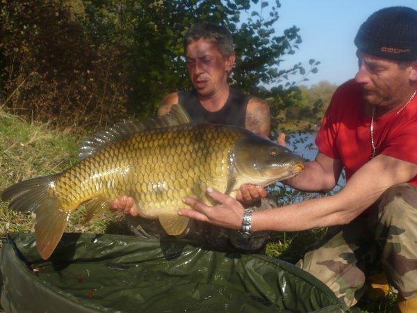 mon dernier poisson de la session
