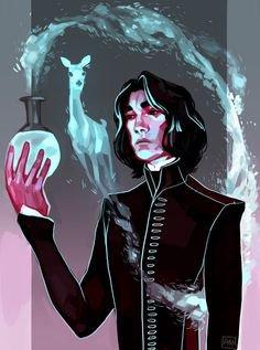 Petite Fan fic Snape!