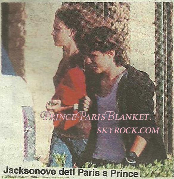 Prince y Paris en calabasas