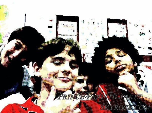 Fotos Presonales | Prince Jackson y 3 de sus amigos