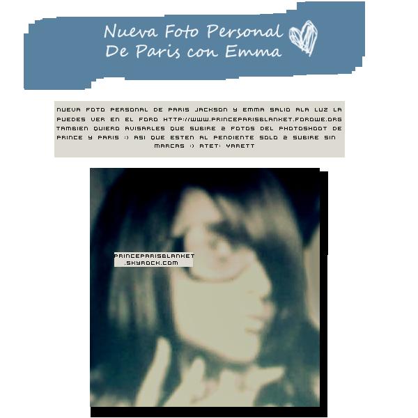 Foto Personal | Paris Jackson junto a Emma Marciano