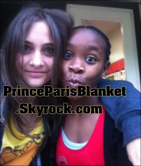 Paris Jackson y Amiga