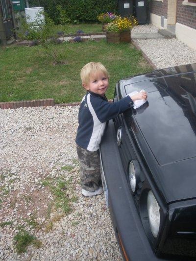 Mon neveu  Yllan