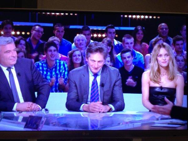 Vanessa Paradis a la TV