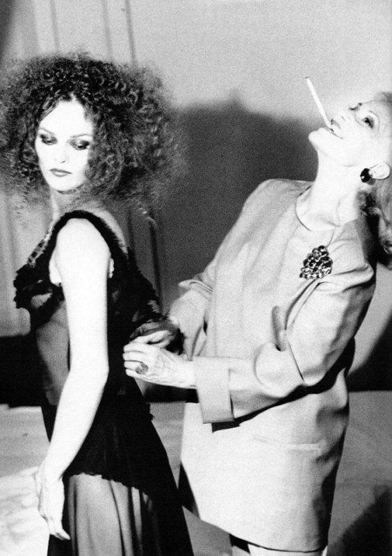 VANESSA PARADIS & Jeanne Moreau
