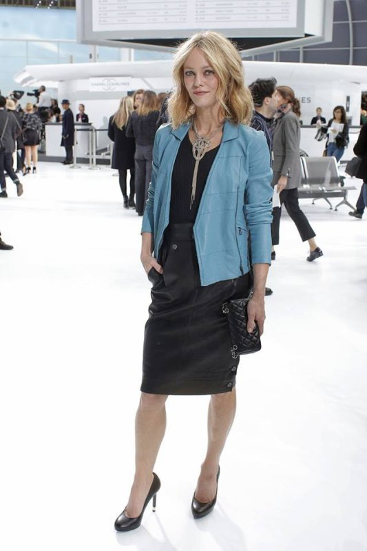 Défilé Chanel Airlines 6 octobre 2015 Grand Palais