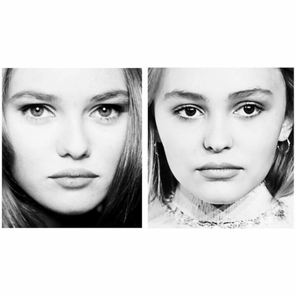 VANESSA PARADIS & Lily-Rose Melody