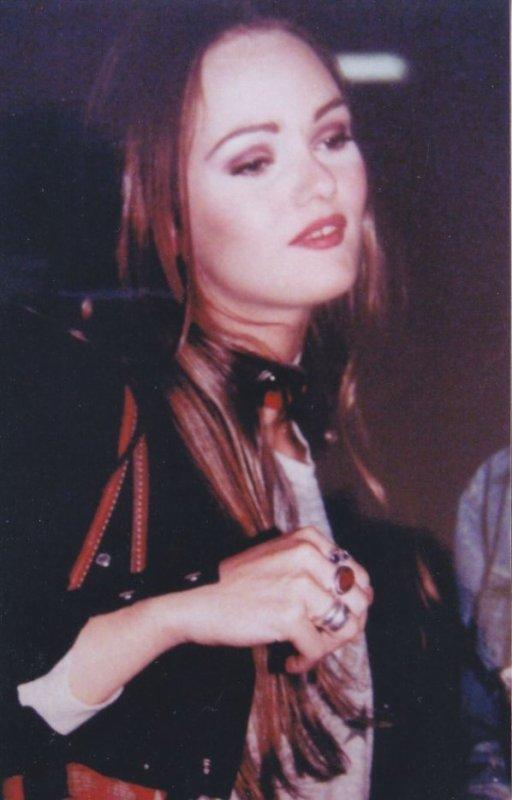 Vanessa Paradis a L'époque de Lenny Kravitz