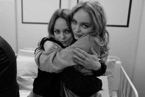 Vanessa Paradis et sa fille