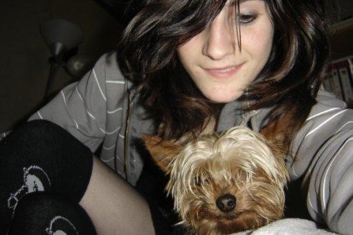 moi avec le chien enragé xd