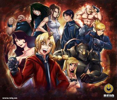 1er groupe manga : FULLMETAL ALCHEMIST