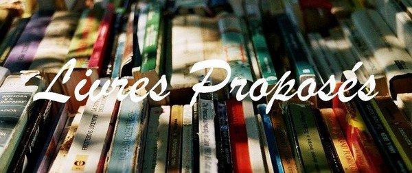 Livres Proposés