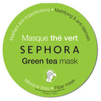 Masque au thé vert de chez Sephora