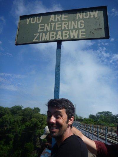 Transit par le Zimbabwe