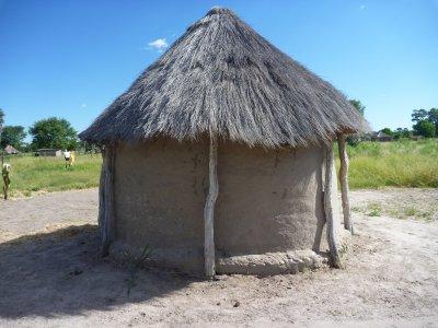 Village dans l'Okavango