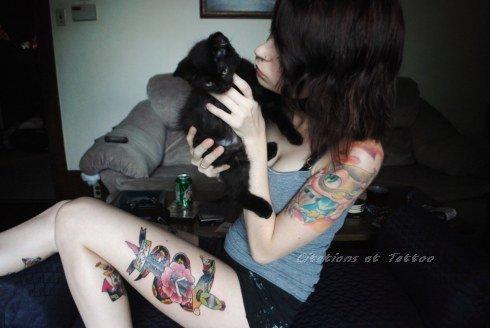 Citations et Tattoo, c'est tout d'abord sur facebook.