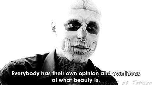 Rick Genest _ Zombie Boy