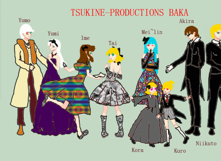 Membres des Baka Productions ! :3