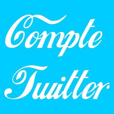 Inscription compte Twitter