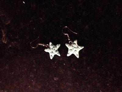 Boucle d'oreille étoile de mer