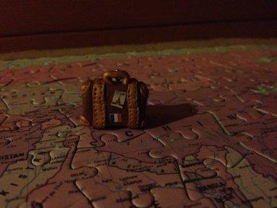 Porte clé valise