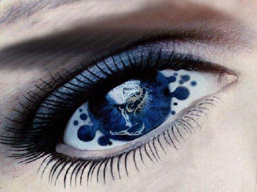 Dans le bleu de tes yeux
