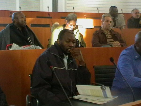 Visite de la diaspora africaine au Parlement francophone bruxellois