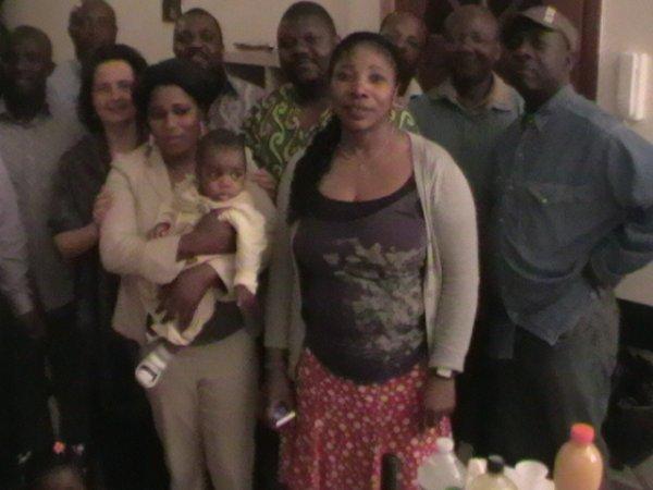 Réception du jeudi 10 Juin 2010 de la Présidente du Parlement francophone bruxellois par la communauté africaine au siège de Refletville asbl