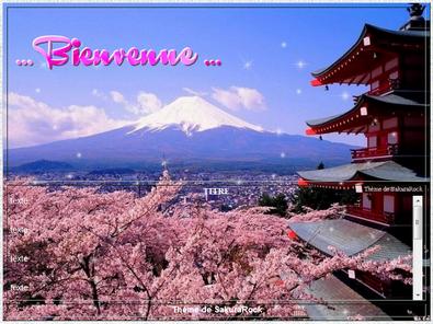ஃ Thème Mont Fuji ஃ