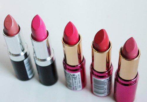 Mes rouges à lèvres de l'été