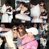Hier, Selena a été vue arrivant à l'aéroport de Miami.