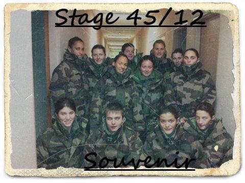 Ecole de Gendarmerie Stage 45/12 ♥♥