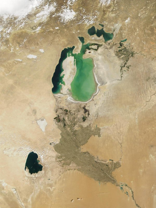 THIS USED TO BE THE ARAL SEA