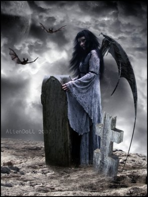 déesse de la nuit