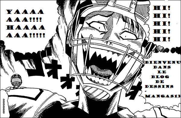 emploie du temps du blog dessins-mangas13