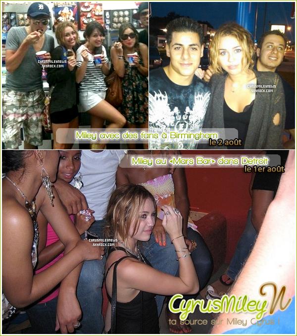 . Nouvelles photos de Miley !