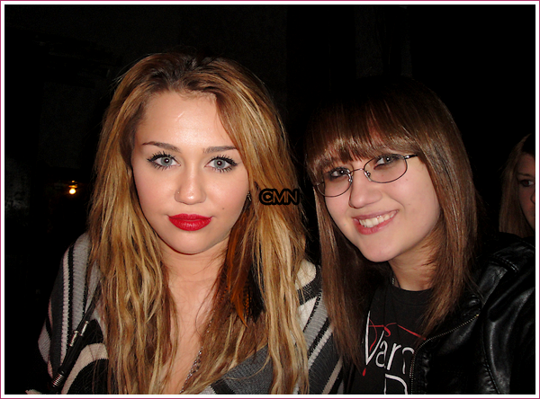 Miley à West Hollywod le 15/11/10