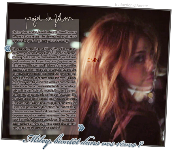 """Miley sur le set de """"So Undercover"""" le 10/01/11. + nouveaux projets"""