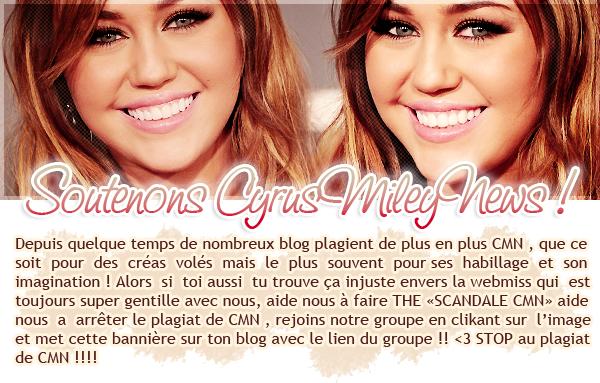 Miley au Gala le 18/02/11.