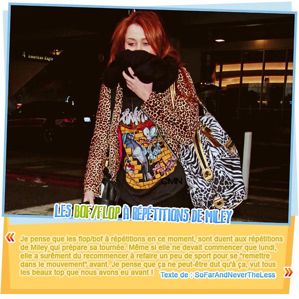 Sortie en famille pour Miley le 17/03/11.