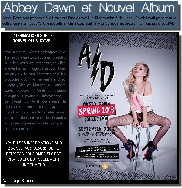Actualités ¿ 19/08/12 ? Abbey Dawn